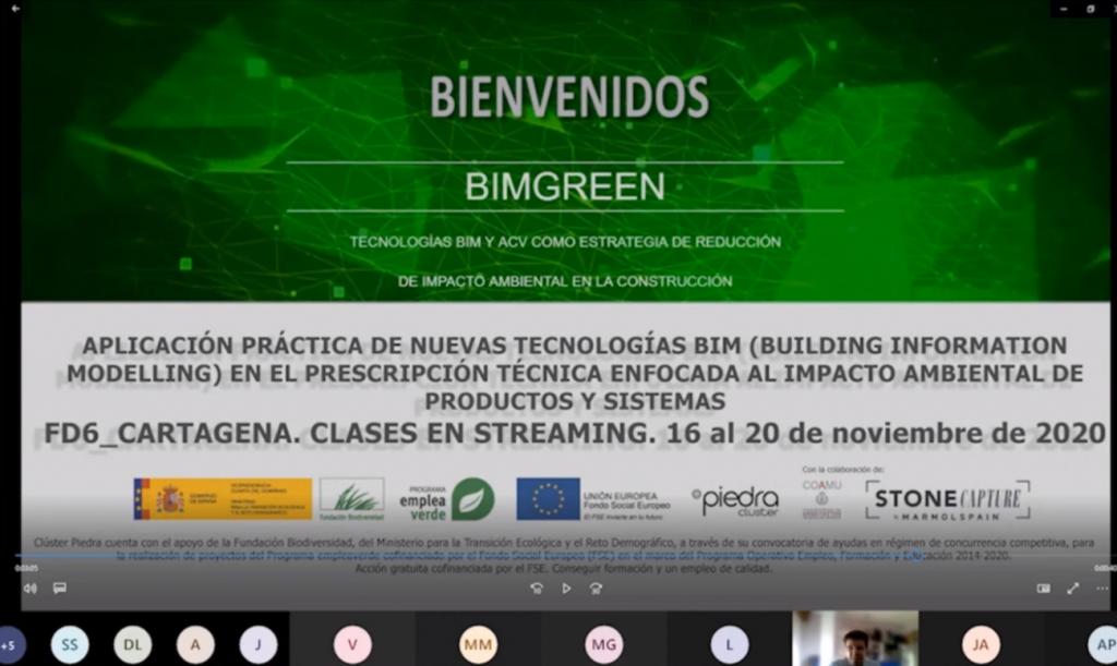 CLÚSTER PIEDRA finaliza el proyecto BIMgreen